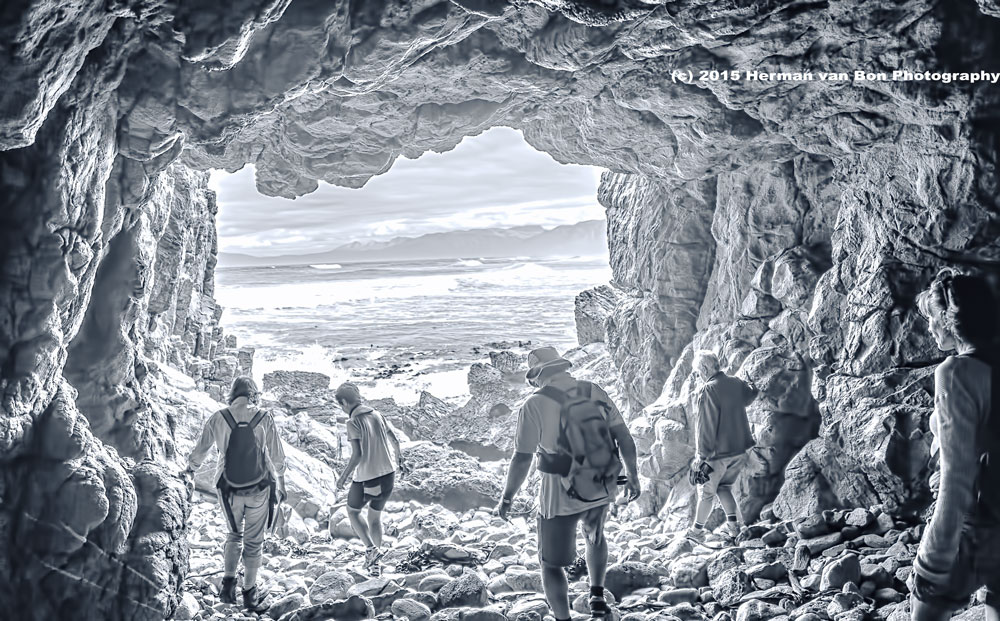 Cave People (Monochrome version)