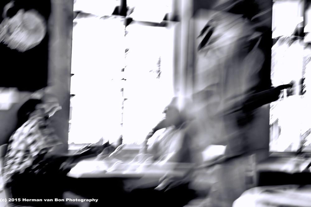 The fast movingwaitress