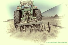 A-farmer-is-real-happy-on-his-tractor