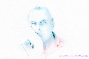 self portrait Herman van Bon