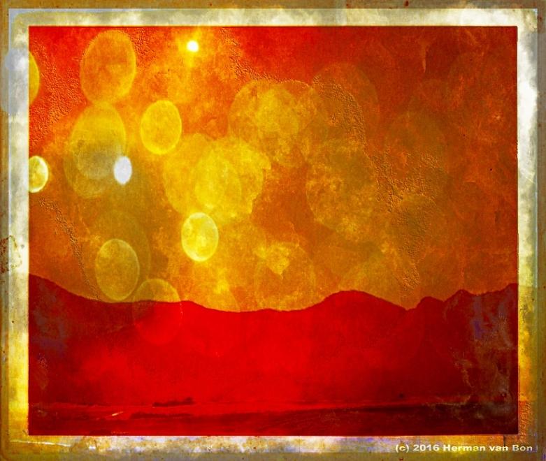 Sunrise in the Overberg