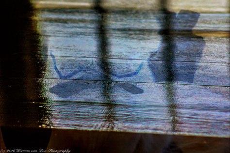 reflection-on-wood