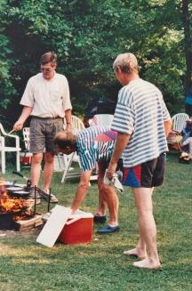 Family picnic Canada
