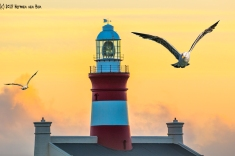 Southernmost lighthouse of the African continent