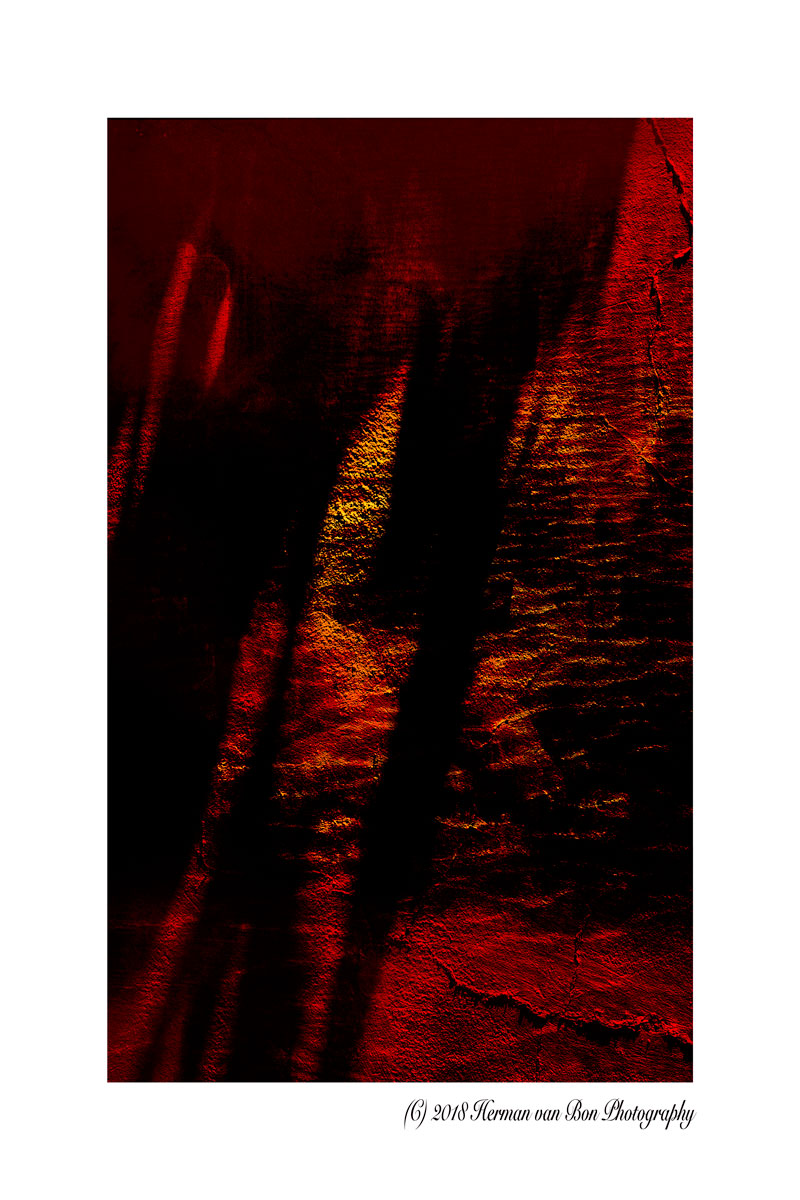 Abstract: shadows in the water